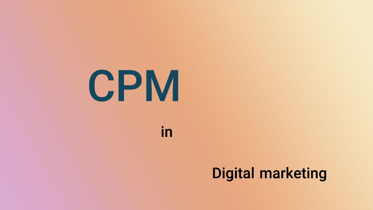 هزینه برای هزار نمایش CPM در بازاریابی اینترنتی